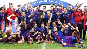 U19 Barca vô địch UEFA Youth League