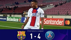 Barcelona 1-4 Paris SG: Bắn sập Nou Camp