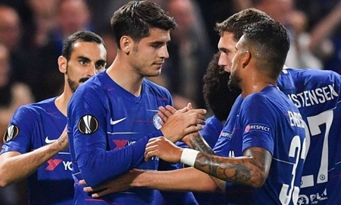 Video bóng đá Europa League: Chelsea 1-0 Mol Vidi