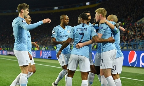 Video bóng đá Champions League: Shakhtar Donetsk 0-3 Man City
