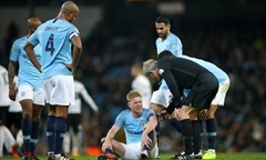 Video bóng đá English League Cup: Man City 2-0 Fulham
