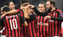 Video bóng đá Europa League: AC Milan 5-2 Dudelange
