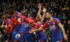 Video bóng đá Premier League: Man City 2-3 Crystal Palace